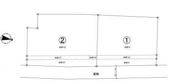 長野県伊那市西春近 売地(2筆) ①320万円・②300万円<売約済み>